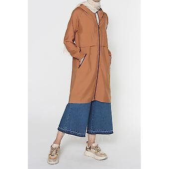 Hooded Raglan Sleeve Cape
