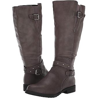 SOUL Naturalizer Womens Studded Strappy Riding Boots