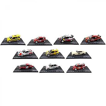 Opo 10 - Wrc Rally Cars - Ixo Collection - Scale 1/43