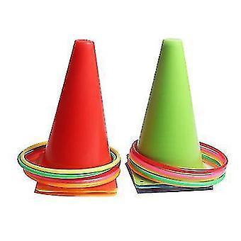 Kleuterschool Outdoor Sports Sense Integration Training Plastic Color Ferrule Speelgoed