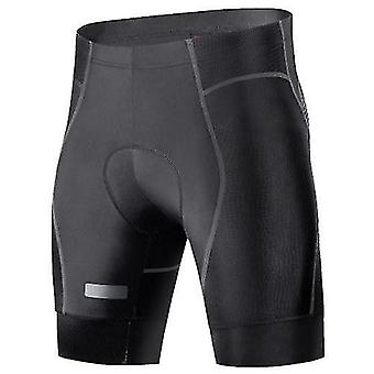 Shorts de bicicleta cuecas homens 4d shorts de ciclismo acolchoado
