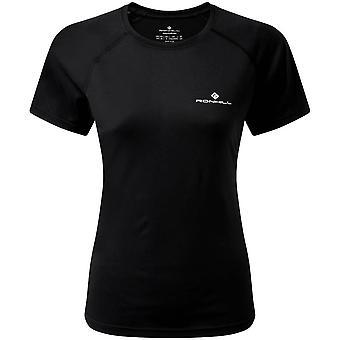 Ronhill Core Short Sleeve T-Shirt - All Black