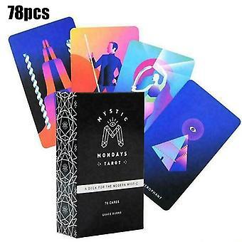 Mystic Mondays Tarot Deck 78 Karten Weissagung Englisch Prophet Tarot Karten