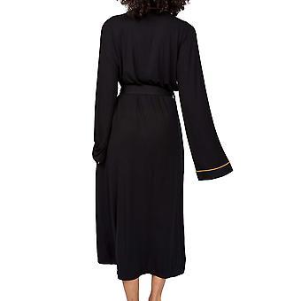 Cyberjammies Annie 4924 Dame Svart Modal Dressing Kjole