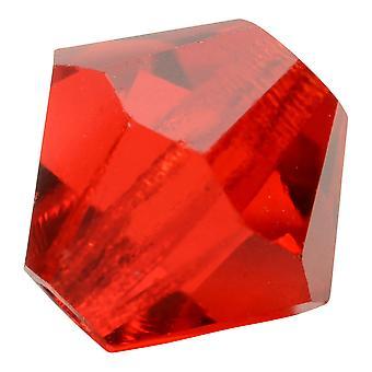 Preciosa Czech Crystal, Bicone Bead 4mm, 36 Pezzi, Siam leggero