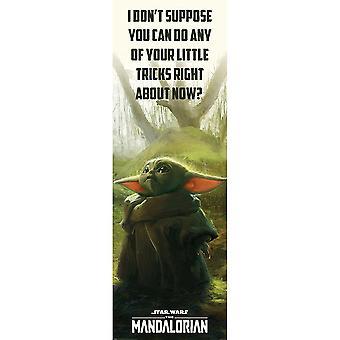 Star Wars: Mandalorian erikoistemppujen juliste