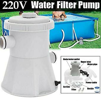 Electric Swimming Pool Filter Pump Water Cleaning System Tool