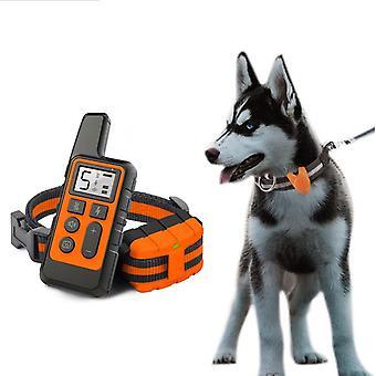 ماء الكلب الكهربائية صدمة التدريب طوق التحكم عن بعد 500M لوازم الحيوانات الأليفة