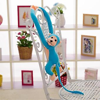 Cute Long Arm Tail Monkey Soft Plush Toy - Baby Sleeping Appease And Decoration 60cm Blue