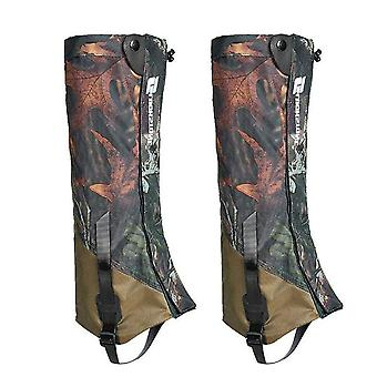 Foot cover durable highly breathable double-deck hiking legging wraps hunting gaiters
