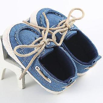 طفل حديث الولادة الدنيم لينة طفل وحيد الرضع حذاء رياضي ضمادة