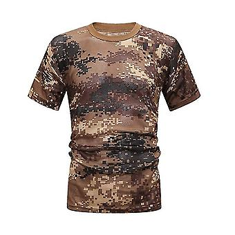 taktisk jakt camo skjorte pustende rask tørking løs tee topper