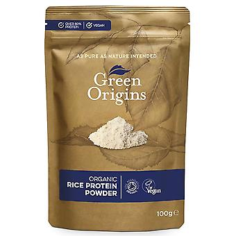 Organic Rice Protein Powder - 100 grams