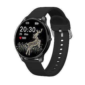 Lw29 smart watch mannen ip68 waterdicht ondersteunt bluetooth muziekspeler hartslag fitness tracker