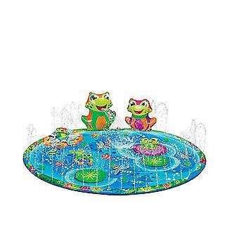 Vand Play Mat for børn Hunde Sprinkler Udendørs Spil, Baby Kiddie Shallow Pool, Kids Water Legetøj Udendørs Legetøj, Toddler Udendørs Legetøj