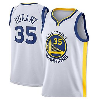 Men's Basketball Jersey #30 Stephen Curry #11 Klay Thompson #35 Kevin Durant Golden State Warriors Swingman Jersey Name And Number Player Sports T-shi