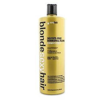 Sexy Hair Concepts Blonde Sexy Hair Sulfate-free Bombshell Blonde Conditioner (daily Color Preserving) - 1000ml/33.8oz