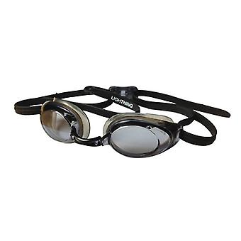 FINIS Lightning Swim Goggles - Black/Smoke