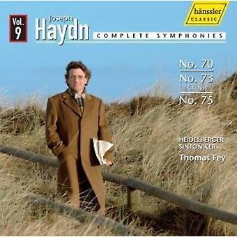 J. Haydn - Haydn: Complete Symphonies No. 70, No. 73, No. 75 [CD] USA import
