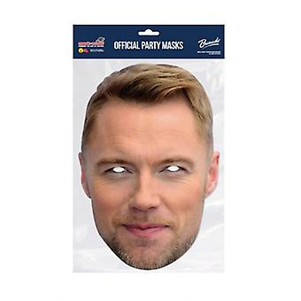 Ronan Keating Celebrity Single 2D Card Party Fancy Dress Mask