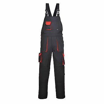 Portwest - Texo Versatile Workwear Cotton Rich Contrast Bib & Brace