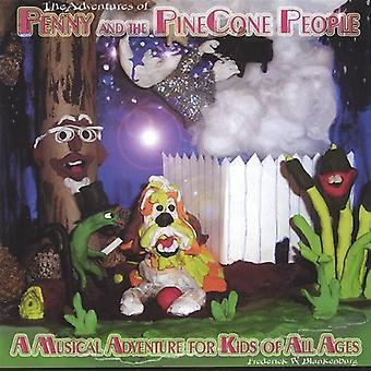 Fred Blankenburg - Penny & Pinecone People [CD] USA tuoda