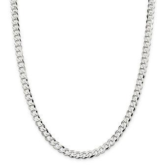 925 στερλίνα ασημένια στιλβωμένο Αστακός νύχι κλείσιμο 6.8 mm κλείσιμο σύνδεση επίπεδη συγκράτηση αλυσίδα βραχιόλι κοσμήματα δώρα για τις γυναίκες-Le