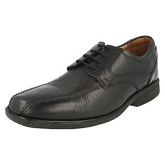 Mens Clarks formelle lisse opp sko fot Soft