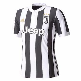 2017-2018 Juventus Adidas hem skjorta (Kids)
