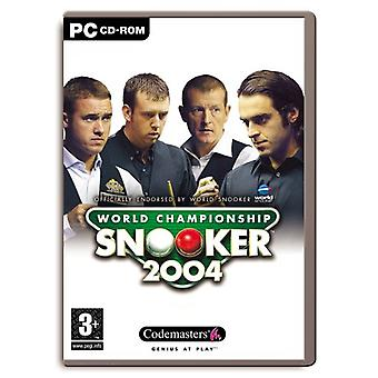 World Championship Snooker 2004 (PC) - As New