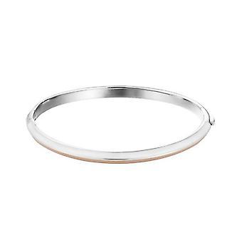 Bracciale ESPRIT ladies Bangle bracciali in acciaio inox bianco / crema ESBA10212A600