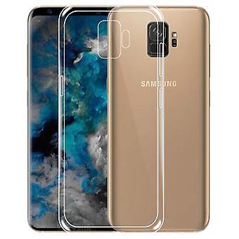 Silikoncase gennemsigtig 0.3 mm ultra tynde tilfældet for Samsung Galaxy S9 G960F pose tilfældet