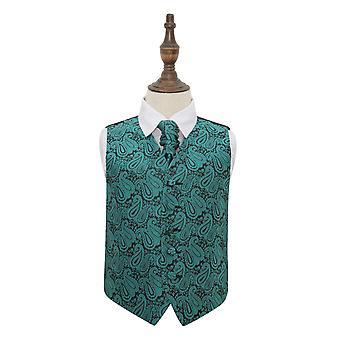 Tavi Paisley häät liivi & Cravat Set pojille