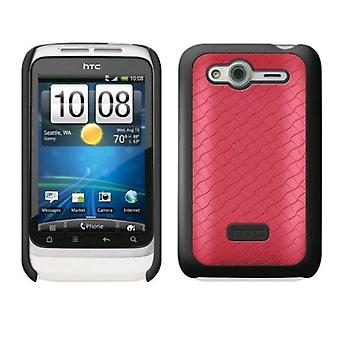 HTC Hard Shell Case for HTC Wildfire S - roze