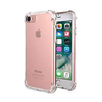 Stuff Certified® iPhone 7 Plus Transparent Clear Bumper Case Cover Silicone TPU Case Anti-Shock