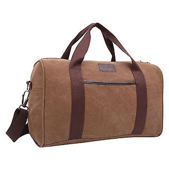 Brown Weekendbag or exercise bag in durable fabric