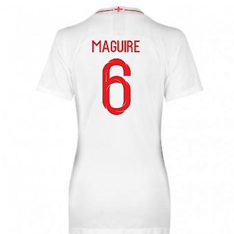 2018-2019 England Home Nike Womens Shirt (Maguire 6)