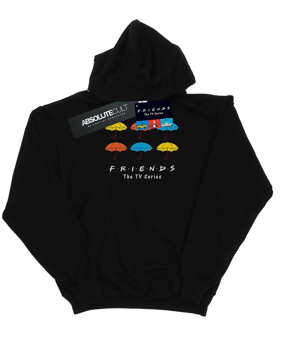 Friends Men's Coloured Umbrellas Hoodie