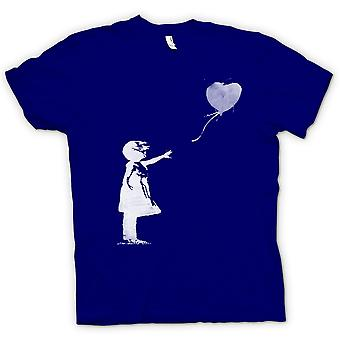 Kinder T-shirt - Banksy Graffiti-Kunst - Ballon