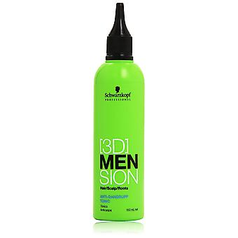 3D Men Sion Anti-Dandruff Tonic Triple Pack 3x150ml
