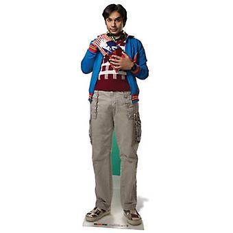 Raj Koothrappali levensgrote kartonnen uitgesneden / Standee (The Big Bang Theory)