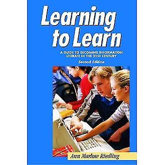Imparare ad imparare: una guida per diventare informazioni Literate