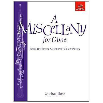 Ogólnie dla Oboe, Book II: jedenaście kawałków umiarkowanie łatwy: Bk. 2