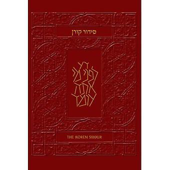 La Siddur de sacs Koren: Hébreu/anglais livre de prières de Shabbat & vacance avec traductions et commentaires