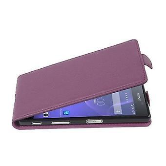 Estojo cadorabo para Sony Xperia X Capa da caixa de performance - Caixa de telefone Flip em couro falso texturizado - Caso Capa Capa Caso de proteção Livro Dobrável Estilo