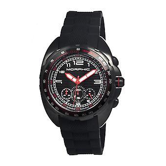 Morphic M25 Series Chronograph Men's Watch - Black
