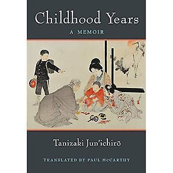 Años de la niñez: Un libro de memorias (serie de monografías de Michigan en estudios japoneses)
