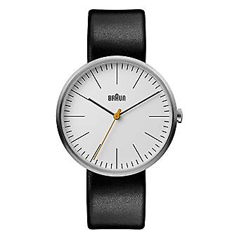 Braun Classic Analog quartz men's watch with leather BN0173WHBKG