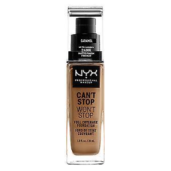 NYX PROF. MAKEUP Can't Stop Won't Stop Foundation - Caramel