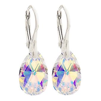 Women's 16mm Crystals From Swarovski Hand Crafted Earrings